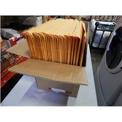 BOX OF NEW PACKING ENVELOPES