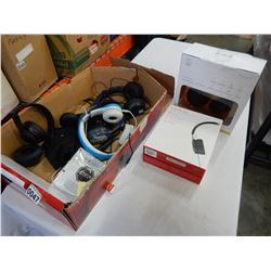 LOT OF WIRELESS HEADPHONES