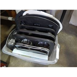 TOTE OF ALL WILTON BAKING PANS VARIOUS TYPES