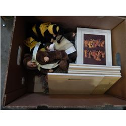 BOX OF ANNE GEDDES PICTURES AND COLLECTIBLES