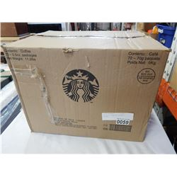 BOX OF STARBUCKS VERANDA COFFEE