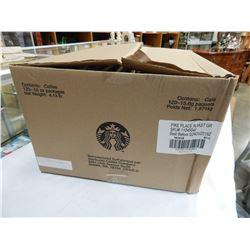 BOX OF STARBUCKS PIKE ROAST COFFEE