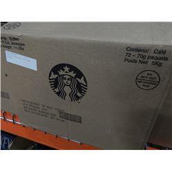 CASE OF STARBUCKS PIKE ROAST COFFEE