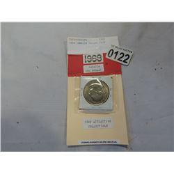 1969 JAMAICA DOLLAR COIN