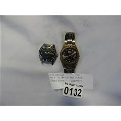 BMT PILOT WATCH AND ORLEAN SIERRA WATCH - 1 AUTOMATIC