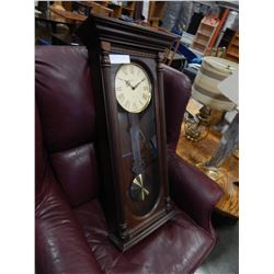 HOWARD MILLER DUAL CHIME WALL CLOCK