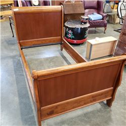SINGLE SIZE SLEIGH BED FRAME