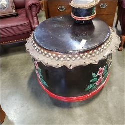 SMALL AND LARGE CHINESE DRUMS