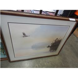 GORDON HENCHEL FIRST FLIGHT LIMITED EDITION PRINT