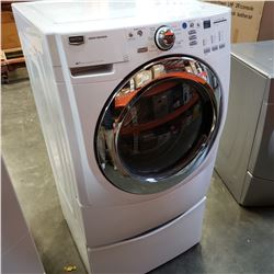MAYTAG 3000 SERIES FRONT LOAD WASHER WITH STORAGE PLATFORM - TESTED AND WORKING