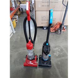 DIRT DEVIL AND BISSEL BAGLESS VACUUMS