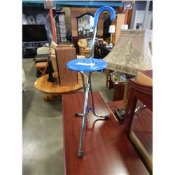 VINTAGE FOLDING CANE CHAIR