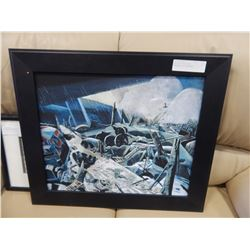 VOID PAUL NASH REPRODUCTION WAR PAINTING