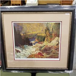 """RIVER AND RAPIDS"" LEP BY J.E.H. MACDONALD #24686"