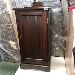 1 DOOR END TABLE - APPROX 31 INCH TALL