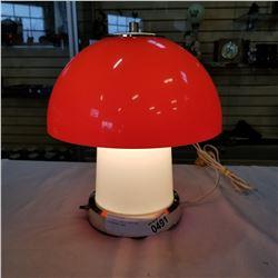 GILBERT 1960S ORIGINAL MUSHROOM LAMP