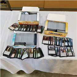 3 BOXES OF MAGIC THE GATHERING CARDS
