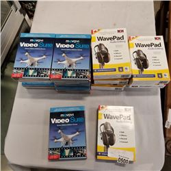 WAVEPAD AND VIDEO SUITE SOFTWARE