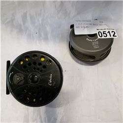2 FLY FISHING REELS CABELAS AND RIM FLY