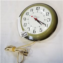 INGRAHAM VINTAGE WALL CLOCK