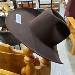 RESISTOL SELF CONFORMING 5X BEAVER COWBOY HAT