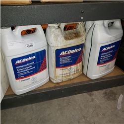 5 JUGS AC DELCO ANTIFREEZE COOLANT