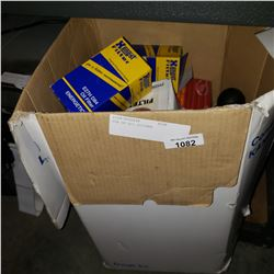BOX OF OIL FILTERS
