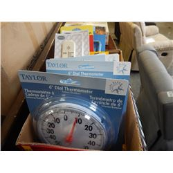 10 ASSORTED THERMOMETERS