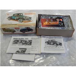 IRWIN TOYS METAL MODEL CAR KIT 1932 CHEVROLET COUPE