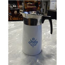 VINTAGE CORNING WARE COFFEE PERKULATOR