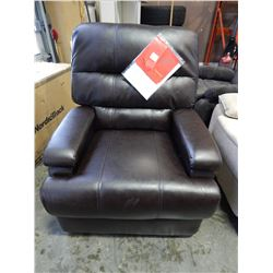 NEW LIFESTYLE SOLUTIONS JOYCE RELAX-A-LOUNGER RECLINER,FAUX JAVA LEATHER RETAIL $499