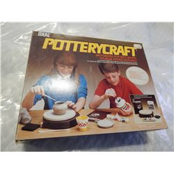 IDEAL POTTERY CRAFT MOTORIZED POTTERY WHEEL