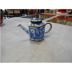 KELVIN CHEN ENAMELED STARY NIGHT TEA POT
