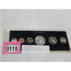 1967 CANADIAN MINT SET CENTENNIAL YR .800 SILVER