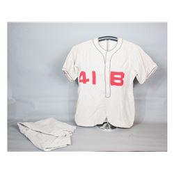 WWII-Era Baseball Uniform