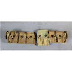 WWI Cavalry Ammo Belt