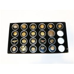 WWII US Collar Disc Collection