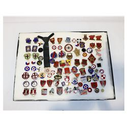WWII & Post War US DI & Badge Collection