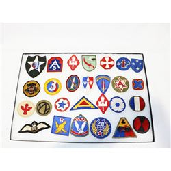 WWII Era Patch Lot German, British