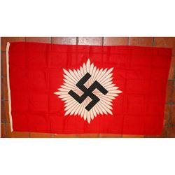 """Nazi """"RLB"""" Air Raid Service Flag"""