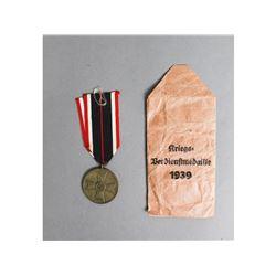 Unissued German Service Medal