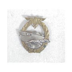 WWII German Kreigsmarine E-Boat Badge
