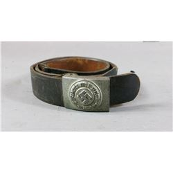 Nazi Police Belt And Buckle