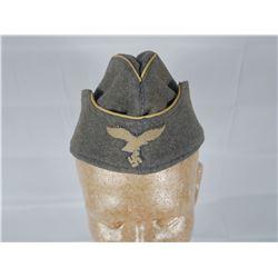 WWII German Luftwaffe Overseas Cap