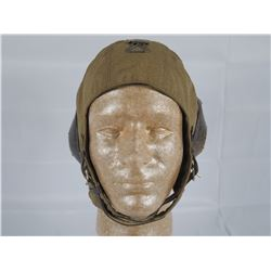 WWII German Luftwaffe Pilots Summer Flight Helmet