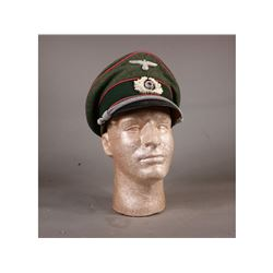 WWII Panzer Visor Hat