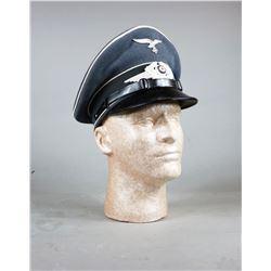 WWII German Luftwaffe Visor Cap