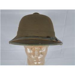 WWII German Army Africa Korp Pith Helmet