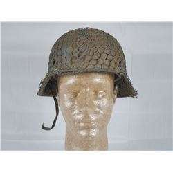WWII German Chicken Wire Helmet