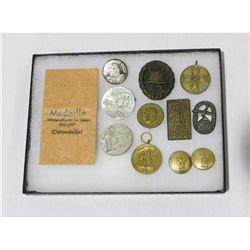 WWII German Medal Tinnie & Badge Lot